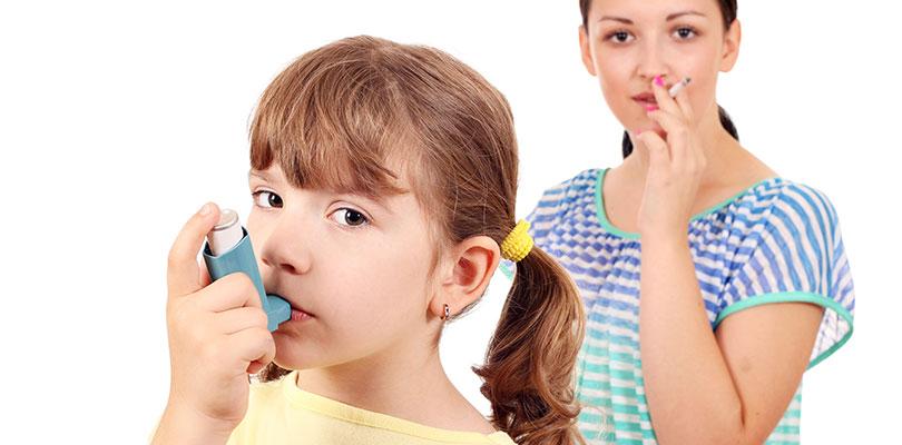 Fumar é um exemplo doentio para seus entes queridos